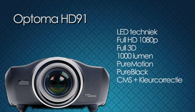 Optoma HD91 Full HD 3D LED