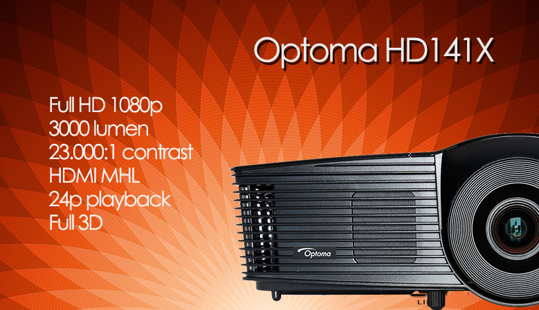 Optoma HD141X Full HD 1080p instapmodel