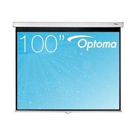 100 inch - 4:3 - Handbediend Projectiescherm met Speed Control