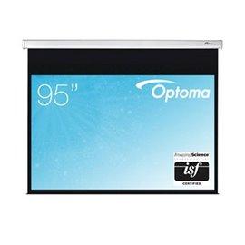 95 inch - 16:10 breedbeeld - Handbediend Projectiescherm met Speed Control