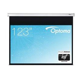123 inch - 16:10 breedbeeld - Handbediend Projectiescherm met Speed Control